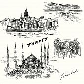stock photo of constantinople  - Turkey - JPG