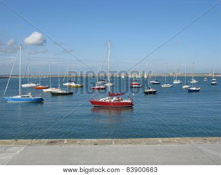 Port in Dublin Bay