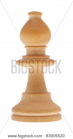 Chessman Bishop Including Clipping Path