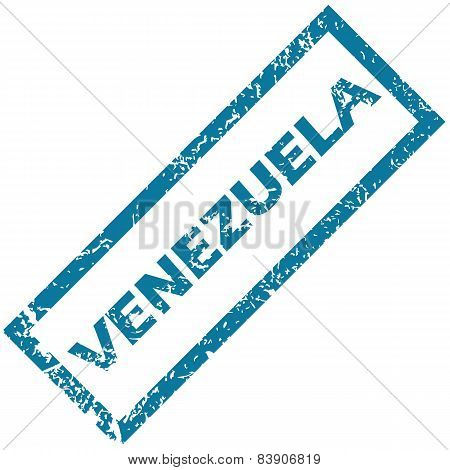 Venezuela rubber stamp