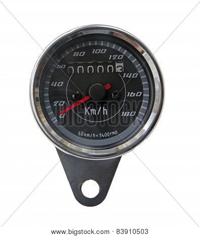 Speedometer Of A Motorcycle