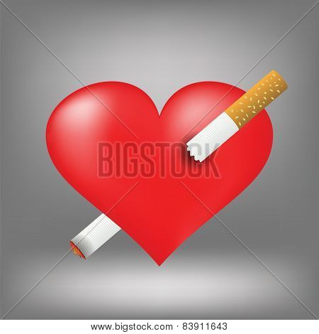 Cigarette And Heart