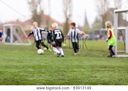 Blurred Soccer Boys