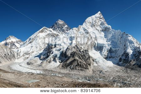 Panoramic View Of Mount Everest