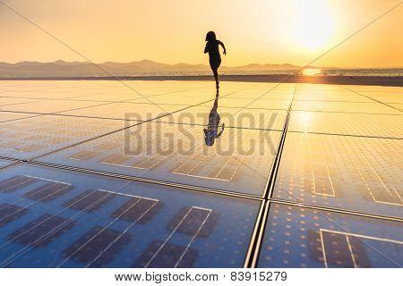 Solar Panel Texture