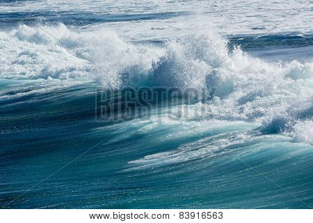Frozen Motion Of Large Wave At Sea