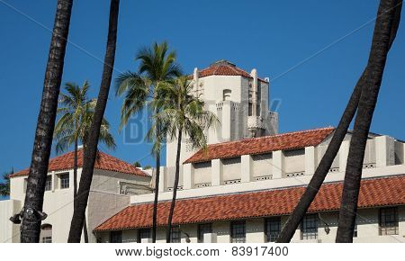 Honolulu Hale Seat Of Government In State