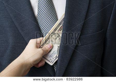 Concept - Corruption
