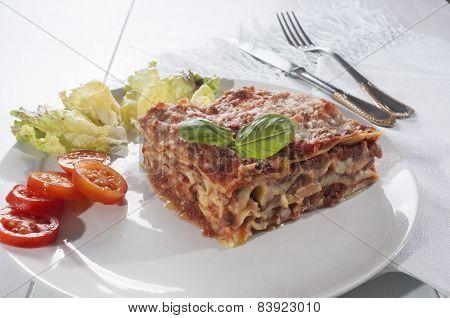 Lasagna Italian Meal