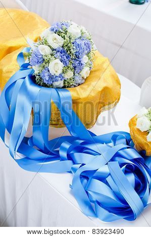 Edding Bouquet, Flowers, Roses, Beautiful Bouquet