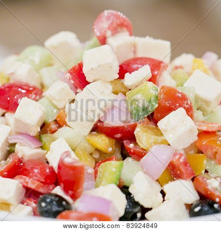 Close Up Fruit Salad