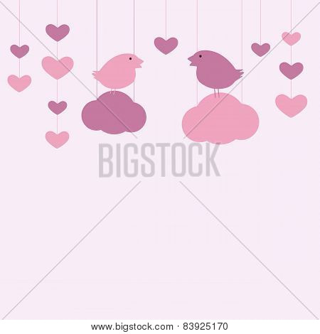 St Valentine`s Day Card