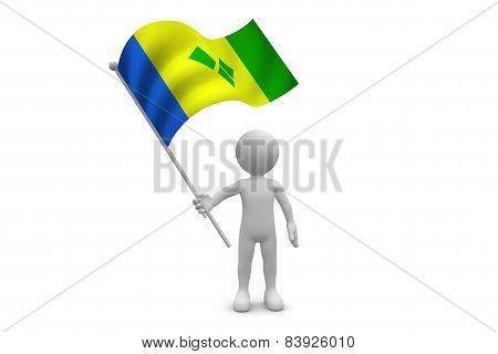 Saint Vincent Flag