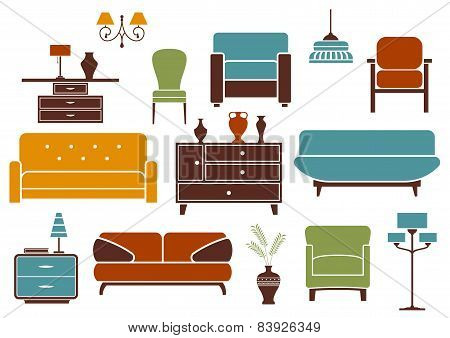 Furniture and interior design elements