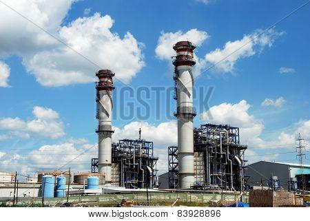 Oil refinery, Puente Mayorga.