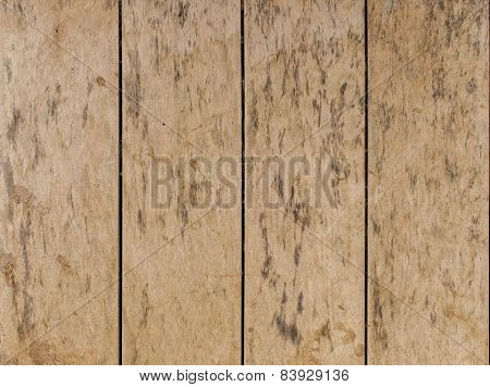 Old Wooden Planks Wall For Background