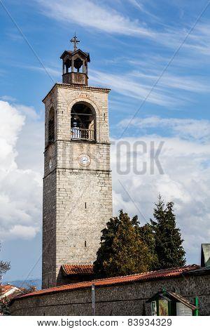 Tower Of Sveta Troitsa Church In Bansko, Bulgaria