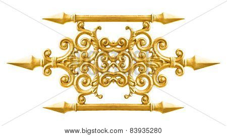 Golden Alloy Pattern