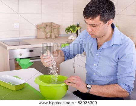 Man In Kitchen