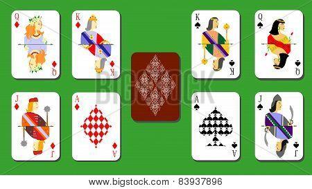 cards bubi peaks