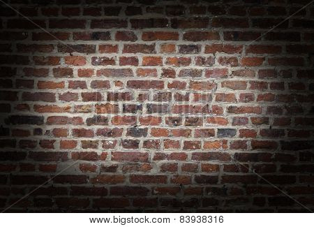 Brick Wall Vignette