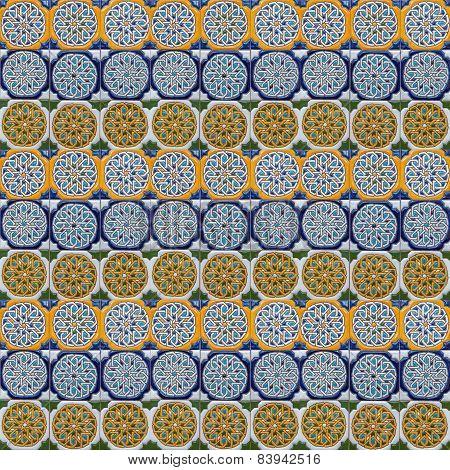 Moorish Tile Background