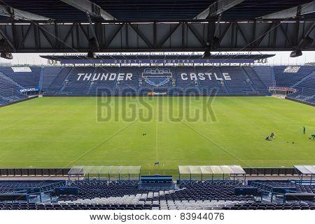 New I-mobile Stadium In Buriram, Thailand