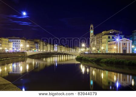 One Of The Bridges Of Florence