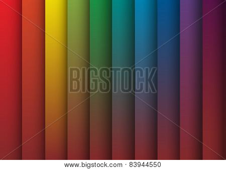 Spectrum Colorful Vector Background