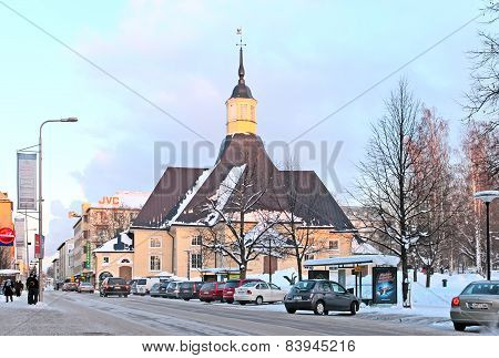 Lappeenranta. Finland. Saint Mary Church