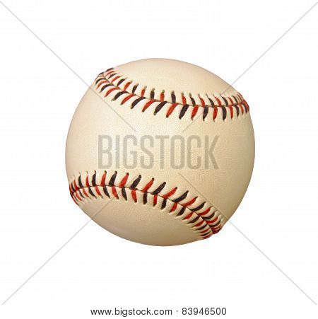 Baseball Isolated On White Background.