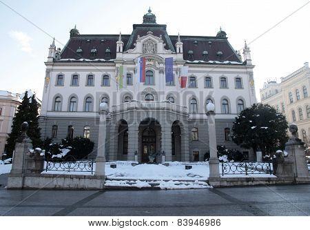 University Of Ljubljana, Slovenia