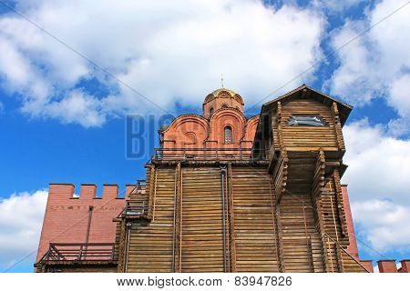Golden Gate Of Kyiv Were Built In 1164 At The Kyiv Prince Yaroslav The Wise, Ukraine