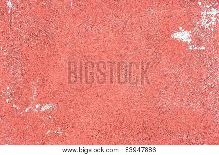 Red Concrete Wall Background