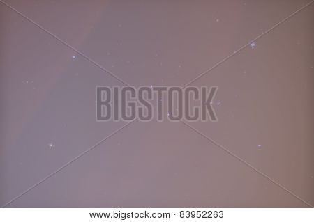 Constellation - Orion In Urban Area