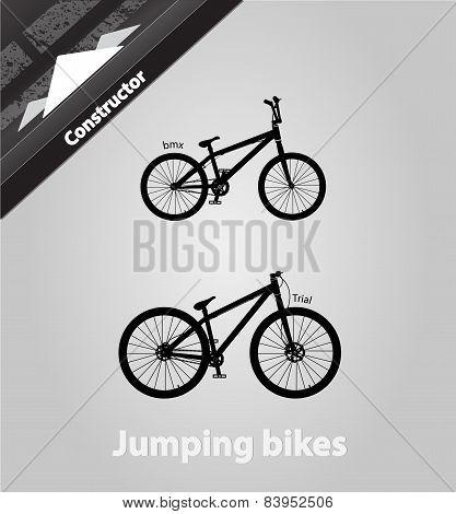 Jumping Bikes.