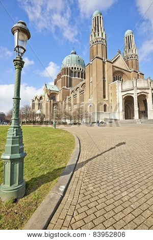 National Basilica Of Sacred Heart In Koekelberg, Brussels, Belgium
