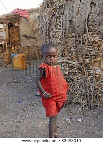 Young Masai Girl