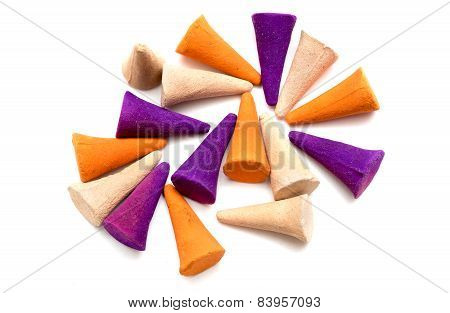 Colorful Incense Cones