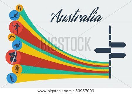 Vector australia safari