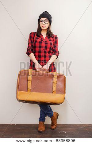 Retro Suitcase.