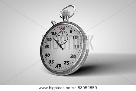 Stopwatch - A Device For Time Seconds