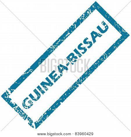 Guinea-Bissau rubber stamp