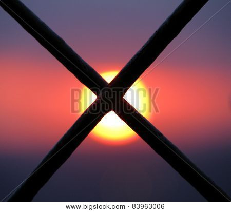 Sun Behind Bars