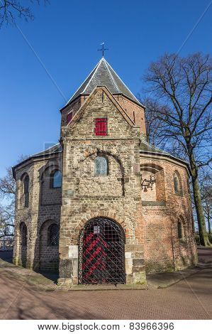 Sint Nicolaas Church In The Valkhof Park In Nijmegen