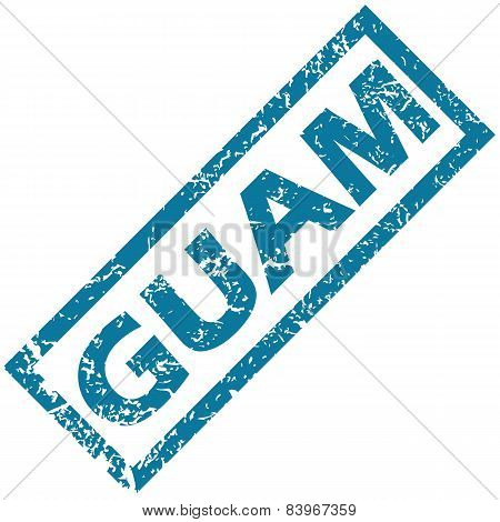 Guam rubber stamp