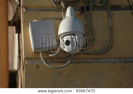 Camera outdoor surveillance