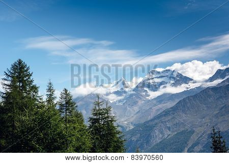 Mountain Snow Landscape