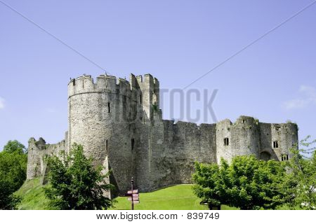 chepstow castle monmouthside wales