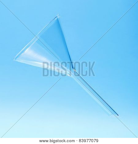 Clear Chemistry Glass Funnel